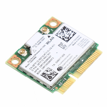 876M Dual Band 2.4+5G Bluetooth V4.0 Wifi Bezdrôtové karty Mini PCI-Express Karta Intel 7260 AC Pre DELL 7260HMW CN-08TF1D Dropship 135229